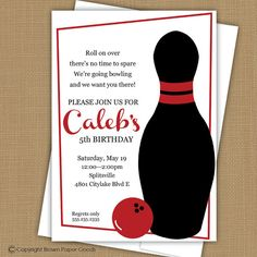 Bowling Party Invitation Wording - 40 Bowling Party Invitation Wording , Pin by Free Line Invitations On Kids Birthday Party Bowling Birthday Invitations, Birthday Party Invitation Wording, Invitation Ideas, Invites, Wedding Invitations, Birthday Text, 5th Birthday, Birthday Cards, 4th Birthday Parties