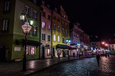 Poland Warsaw old town / Polska Warszawa - stare miasto