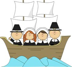 Clip Art Pilgrims Clipart cute pilgrim clip art pilgrims and indians free children thanksgiving on the mayflower four aboard mayflower