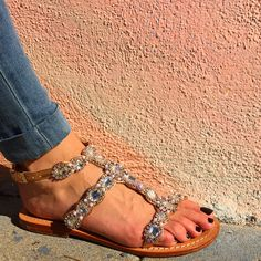 6bc79123744d 98 Best Our Jeweled Sandals  images in 2019