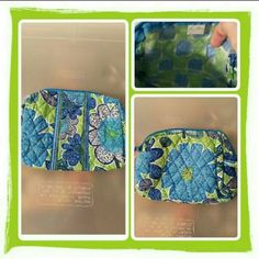 NWOT Vera Bradley Cosmetic Bag  Brand New Vera Bradley Cosmetic Bag In Retired Rare Doodle Daisy Pattern. This Is Such A Pretty Color Combination For Spring & Summer. Excellent Condition  TRADES  PAYPAL  NO LOWBALLING PRICE IS FIRM  Vera Bradley Bags Cosmetic Bags & Cases