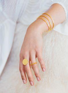Faye Ring // Marlow Ring Set // Paloma Cuff