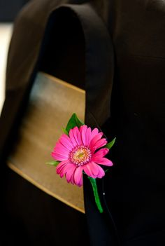 Gerbera boutonniere  (flowers by Lee Forrest Design, photo by: John J. Unrue Photography)