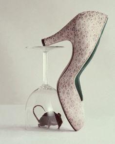 Shoes by Richard Rutledge, Mademoiselle, 1953