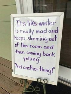 Mother Nature Quotes Winter Life New Ideas Lol, Haha Funny, Funny Cute, Funny Shit, Funny Memes, Hilarious, Funny Stuff, Funny Things, Random Stuff