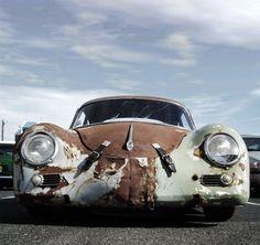 Porsche 356 with patina