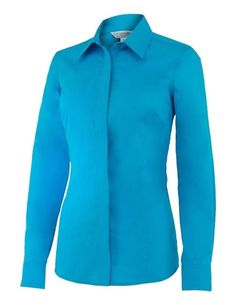 Noble Outfitter Shirt Women L/S Perfect Fit Show Sz M Twilight Blue 21010 $99.95 #NobleOutfitters #Western