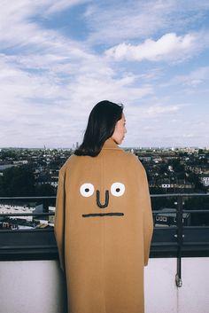 [AW16 JJ x SV] Oversize Wool Coat(Beige)