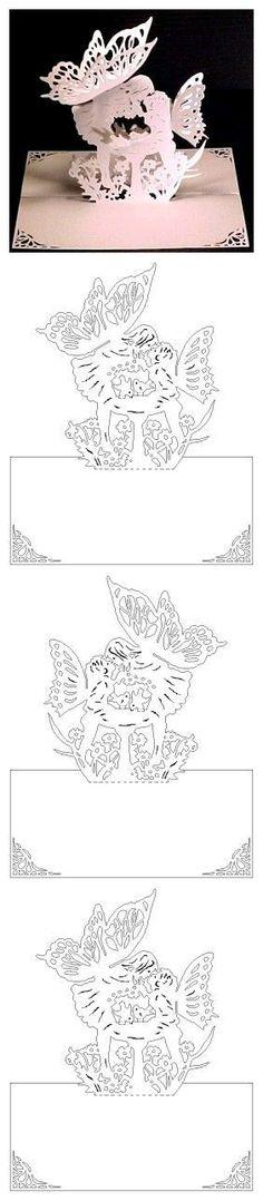 Kirigami:butterfly