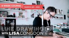 Learn basic stylized line drawing from one of today's most sought-after illustrators, Lisa Congdon. Over this four-week course, Lisa covers the basics of line drawing, shows you how to build beautiful patterned drawings, and teaches fun projects for integrating line drawing into your repertoire. Whether you are just learning how to draw, or you want to deepen a regular creative practice, this class will fuel your imagination and show you how to create infinite designs from simple shapes…