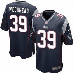 d8596f8a2 New Youth Blue NIKE Game New England Patriots  39 Danny Woodhead Team Color  NFL Jersey