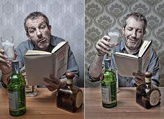BOOK #5 & #6 / KANT vs BUKOVSKI by Pierre Beteille, via Flickr