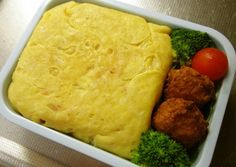 Omurice for your Bento Recipe -  Very Delicious. You must try this recipe!