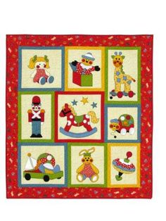 Toy Time - by Kids Quilts - Quilt PatternSECONDARY_SECTION$22.00: Fabric Patch: Patchwork Quilting fabrics, Moda fabric, Quilt Supplies,�Patterns