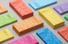 """Mita Chocolate – Visual Identity System by Moniker """"Mita is a husband-and-wife team of artisan chocolate makers. Based in Bogota, Colombia, Mita sources beans from Venezuela, Peru, Ecuador and Colombia to create their amazing bean-to-bar chocolate...."""