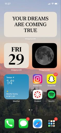 Mostly Sunny, Instagram And Snapchat, Homescreen, Ios, Tech, Apple, Apple Fruit, Technology, Apples