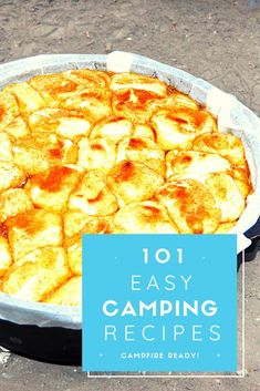 Learn how to make the best meals for camping including chicken, fish, and desserts Camping Meals, Good Food, Easy, Camp Meals, Healthy Food, Food To Bring Camping, Camping Foods, Yummy Food
