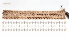 Point albanais au crochet | HOOKLOOK. Méli-mélo d'idées en laine et au crochet.