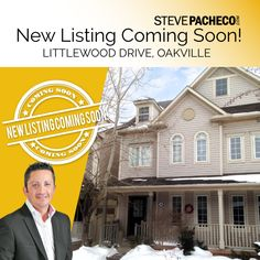 Oakville Real Estate Team - Homes for sale in Oakville, Burlington, GTA and surrounding areas. Oak Park, Free Market, Coming Soon, Townhouse, Real Estate, Marketing, Stay Tuned, Homes, Beautiful