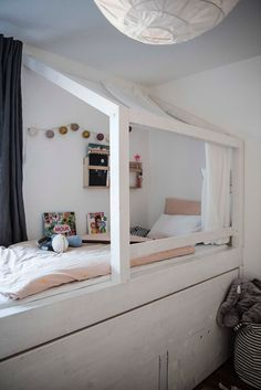 home small space kidsroom I kinderzimmer hochbett stauraum
