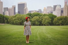 #dresscolorfully dots in central park