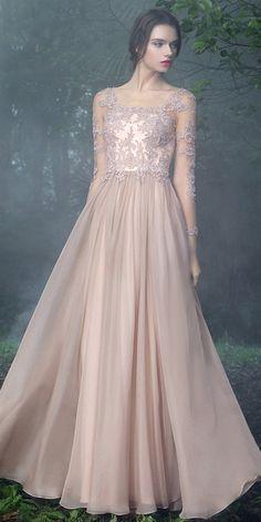 eDressit Blush Bateau Long Sleeves Prom Evening Dress (26170746)