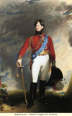 Sir Thomas Lawrence. King George IV. 1815.
