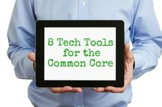The Teacher Report: 8 Helpful Tech Tools for the Common Core via @WeAreTeachers