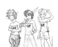 The first trio