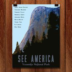 Yosemite National Park by Isaac Loveland