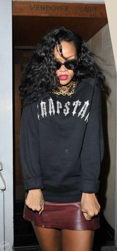 Trapstar Rihanna. RiRi #Rihanna, #Riri, #pinsland, https://apps.facebook.com/yangutu