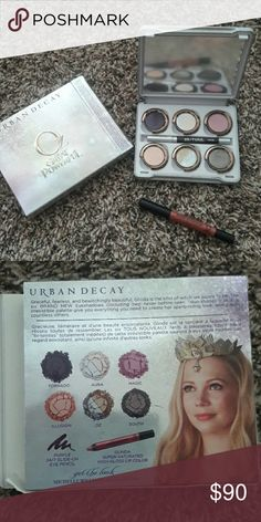 Urban decay great and powerful oz glinda palette Nib w glinda super saturated high gloss lip pencil & rockstar eyeliner pencil Urban Decay Makeup Eyeshadow