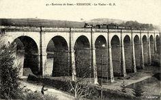 Brest (Kerhuon) ~ Le Viaduc Monuments, Brest, Celtic, Le Mans, Railroad Tracks, France, Image, Rennes, Bridges