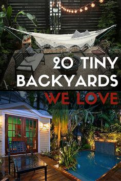 From woodland wonderlands to no-mow lawns, these 20 backyard design ideas showcase the countless fun and functional possibilities that lie on your home turf—no matter its size