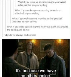 The three gods of tumblr. Supernatural, Doctor Who or Sherlock. Its always one of the three
