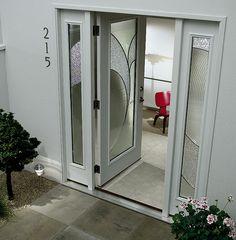 ODL Door Glass, Decorative Glass For Exterior Doors, Front Entry Doors