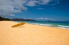 Only Me and a Life Guard, by PhotosbyFlood, Waimanalo Beach, Oahu, HI