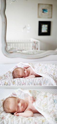 Beautiful Lifestyle Newborn Shoot in Toronto