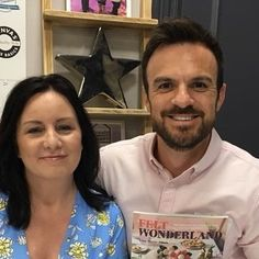 So lovely to meet @danieltarquin on Monday during my @createcrafttv screen test.  Thank you Dan and the C & C team for being so lovely warm and welcoming.  #screentest #tv #createandcrafttv #createandcraft #idealworld #shopping #shoppingchannel #danbancroft #presenter #tvpresenter #feltwonderland #lisamarie #lisamarieolson #lisamarieolsonauthor