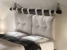 fabriquer une tête de lit avec des coussins