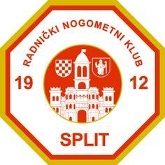 Logos Futebol Clube  Radnički Nogometni Klub Split Times De Futebol 2562e4668066d