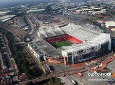 Old Trafford Stadium - Manchester United - Manchester, England Manchester United Old Trafford, Manchester United Football, Old Trafford Stadium, English Football Stadiums, Nfl Stadiums, Visit Manchester, Manchester England, Countries Around The World, England