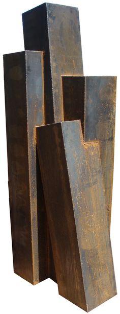 Gilberto Lustosa  4 torres sac 300. 233 x 63 x 95 cm,2012 http://issuu.com/claragontijo/docs/gilbertolustosa