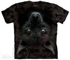 camiseta cabeça de morcego - original the mountain