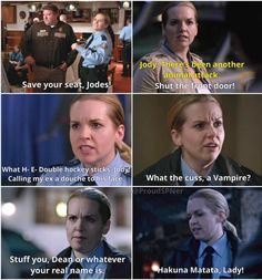 Sheriff Donna is just Awesome! LOL #Supernatural #Hibbing911