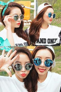 Today's Hot Pick :Transparent Mirrored Round Sunglasses http://fashionstylep.com/SFSELFAA0032450/stylenandaen/out Totally cool sunglasses to wear with your summery outfit. It features a clear round frames with iridescent colored lenses. Wear with a fashion-forward ensemble for maximum impact.