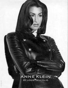 Yasmeen Ghauri Anne Klein - One of my favorite shots of her
