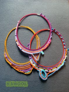 Interview with Freeform #Crochet #Jewelry #Artist Catarina Pereira