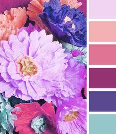 bold meets pastel
