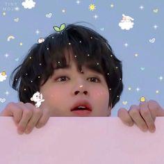 Jimin you're very cute💗💗 Park Ji Min, Taehyung, Namjoon, Hoseok Bts, Mochi, Bts Jimin, Bts Bangtan Boy, Foto Bts, K Pop